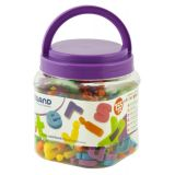 Magnetic Lowercase Letters (155 Pieces) / Jar