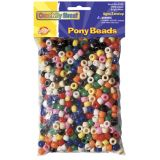 Pony Beads, Bright Hues, Pack of 1000