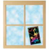 Scratch-Lite® Stained Glass Sheets, 10 Sheets
