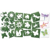 Nature Stencils, Pack of 10