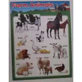 Farm Animals Chart