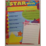 Star of the Week Chart