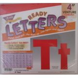 4 Red Venture Letters Combo