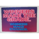 Winners Make the Grade …Poster