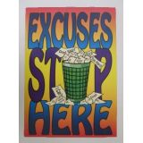 Excuses Stop Here…Poster