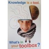 Knowledge Is A Tool…Poster