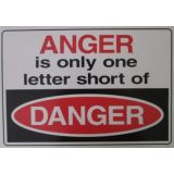 Anger Is Only One Letter