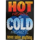 Hot Heads Cold Hearts …Poster