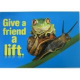 Give A Friend A Lift Poster