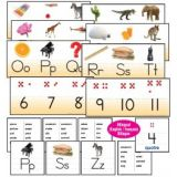 ALPHABET/NUMBER FLASHCARD
