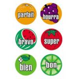 Mini Fruit Stickers