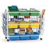 Leveled Reading Book Browser Cart 9, with book displays
