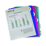 C-Line® 5-Tab Poly Index Dividers, Without pockets