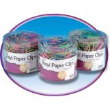 Jumbo Paper Clips, Tub of 200