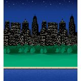 Fadeless® Design Roll, 48 x 50', City Lights