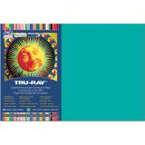 Tru-Ray® Fade-Resistant Construction Paper, 12 x 18, Turquoise