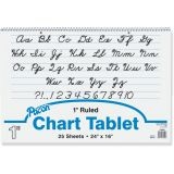 Chart Tablet, 24 x 16 Ruled 1 Tablet