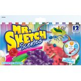 Mr. Sketch® Scented Chisel Tip Markers, 12 colors