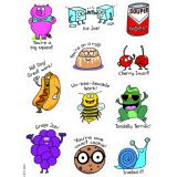 So Much Pun! Punny Reward Stickers