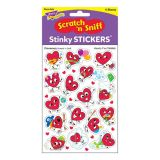Hearty Fun/Cinnamon Stinky Stickers® – Mixed Shapes