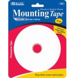 1x200 Double Sided Foam Mounting Tape