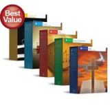 LIFEPAC Grade 1 Bible/History-Geography/Language Art/ Math & Science Complete 5-Subject Set