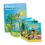 Horizons Preschool Curriculum and Multimedia Set