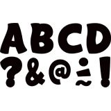 Black Funtastic 1-3/4 Clingy Thingies® Letters