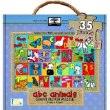 Green Start Giant Floor Puzzle: ABC Animals