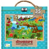 Green Start Giant Floor Puzzle: Dinosaurs