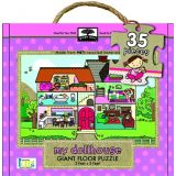 Green Start Giant Floor Puzzle: Dollhouse