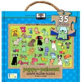 Green Start Giant Floor Puzzle: Puppy Palooza