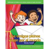 Dos amigos planos viajan por el mundo (Two Flat Friends Travel the World) (Spanish Version)