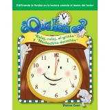 ¿Qué hora es? (What Time Is It?) (Spanish Version)