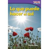 Lo que puede hacer el sol (What the Sun Can Do) (Spanish Version)