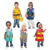 Careers Set 1 Dress Ups Set, Set of all 5