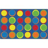 Sitting Spots™ Rug, 10'9 x 13'2 Rectangle, Primary