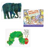 Lap-Sized Board Book Sets, Set I – Bugs and Animals