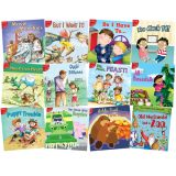 Little Birdie Leveled Fiction Readers, Red Readers, 12 Book Set (English)