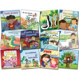Little Birdie Leveled Fiction Readers, Alitas Azules, 12 Book Set (Spanish)
