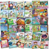 Little Birdie Leveled Fiction Readers, COMPLETE Dual Language Set of 72 Titles