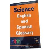 Science English and Spanish Glossary