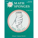 English/Spanish Math Sponges