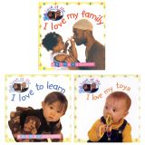 Look At Me Board Books, English, Set of 3