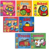 Baby's First Library Book Set, Set of 7