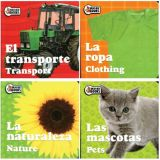 Chunkies Board Books, Spanish/English, Set of 4