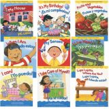 Learning in English and Spanish Board Books, Set 1, Set of 9