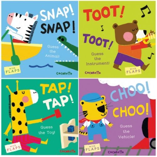 What's That Noise Board Books, Set of 4