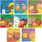 Just Like Me/Just Like Us Board Books, English, Set of 8