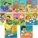 Helping Hands Board Books, English, Set of 8